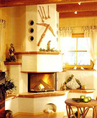 Landhaus Oder Rustikalen Stil Kamin Ofenbau